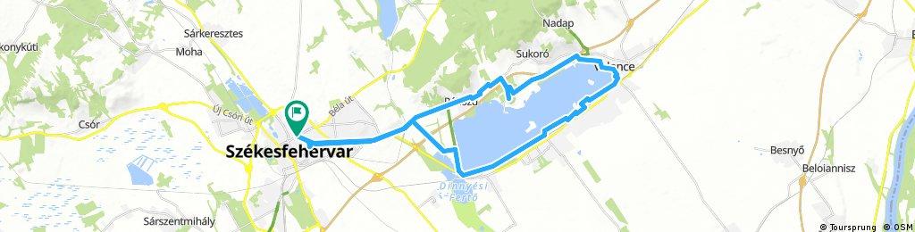 Székesfehérvár - Velene- Agárd - Székesfehérvár