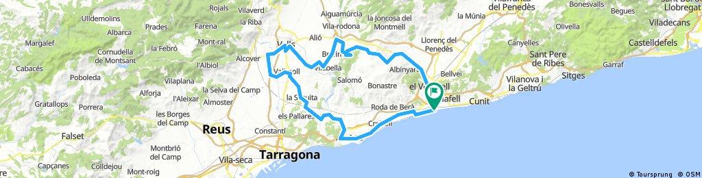 20180719 Sant Salvador-Altafulla-Vallmoll-Vila Rodona-Montferri-Masarbonés-Sant Salvador