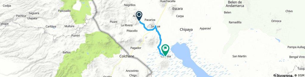 Long bike tour from 19 août 07:47