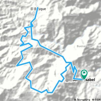 Santa Isable, El Bosque, La yuca, Santa Isabel