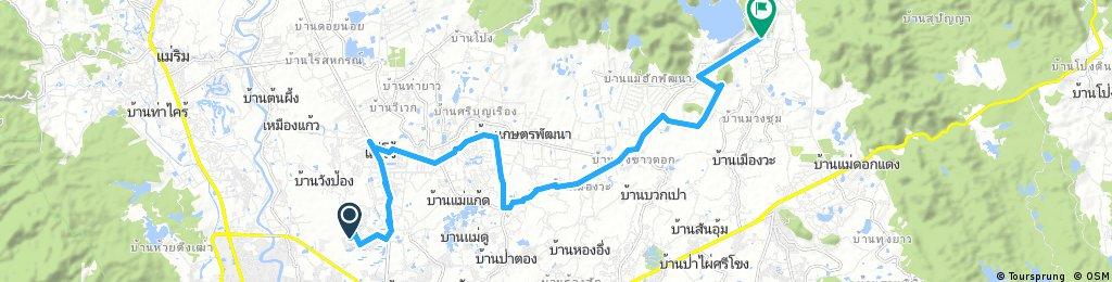 bike tour through Ban Thung Ma Nio