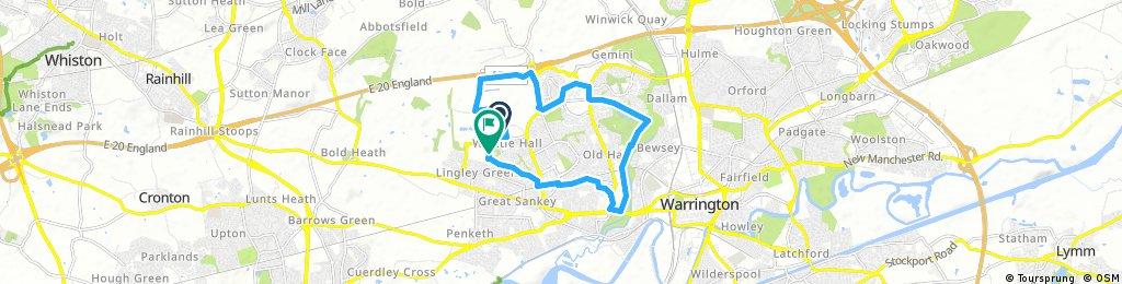 ride through Warrington