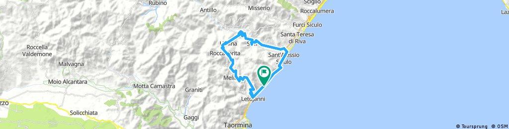 Letojanni-Gallodoro-Mongiuffi-Roccafiorita-Limina-S.Alessio-Letojanni