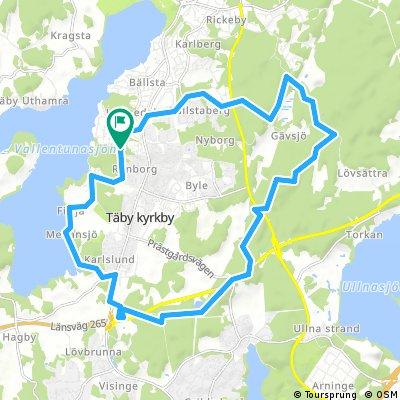 MTB Runt Täby Kyrby