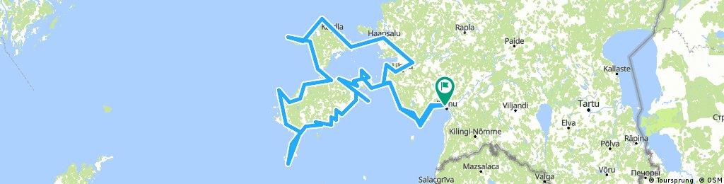 Estonia - Saaremaa, Hiiumaa