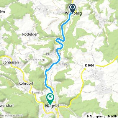Radrunde von Wildberg nach Nagold