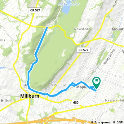 Ride through Maplewood and Cherry Lane