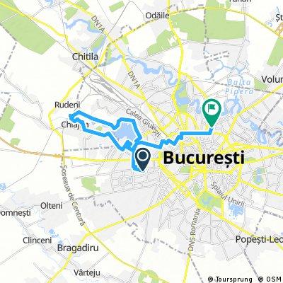 ride through Bucharest