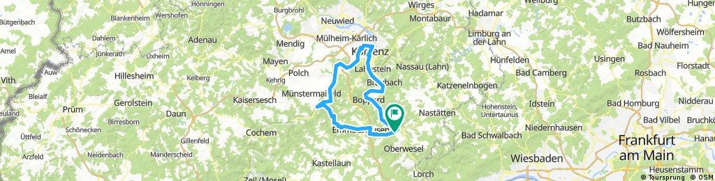 St. Goar - Mosel - Koblenz - St. Goar