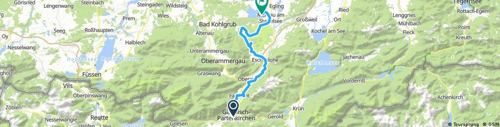 Etappe 1 - Oberbayern Süd-West