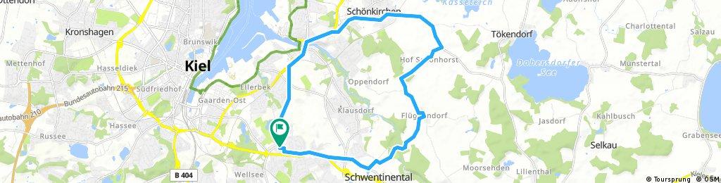 Testroute 18km