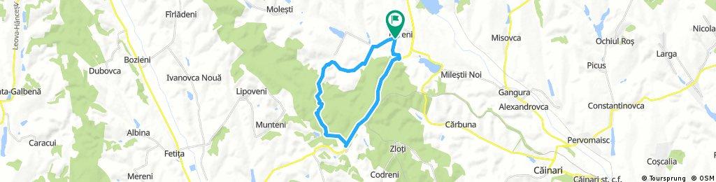 bike tour through Răzeni