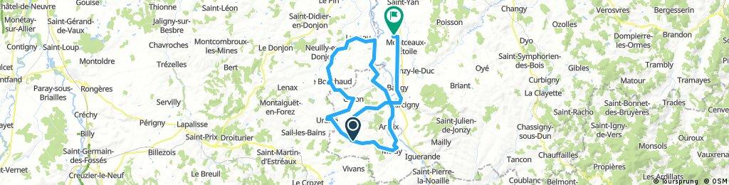 Burgund 2017 Route 3