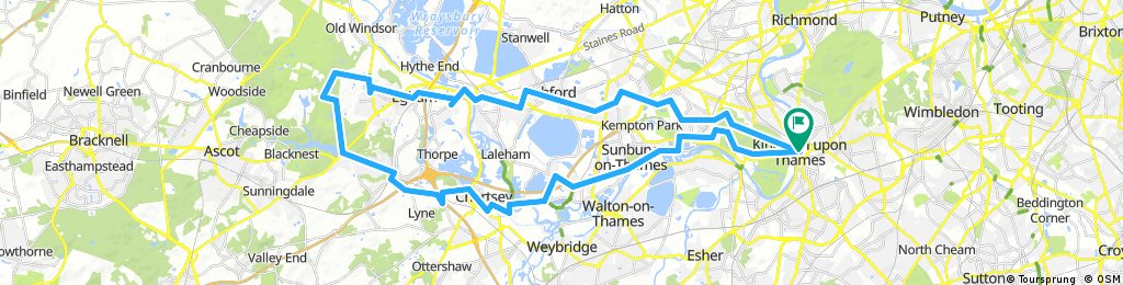 Bread pudding ride to Englefield Green