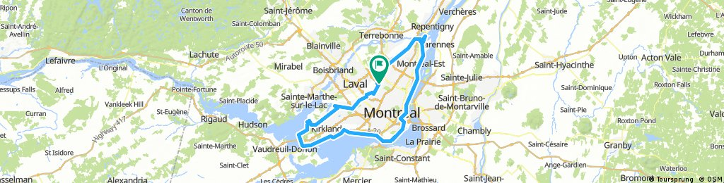 Tour del Île de Montreal