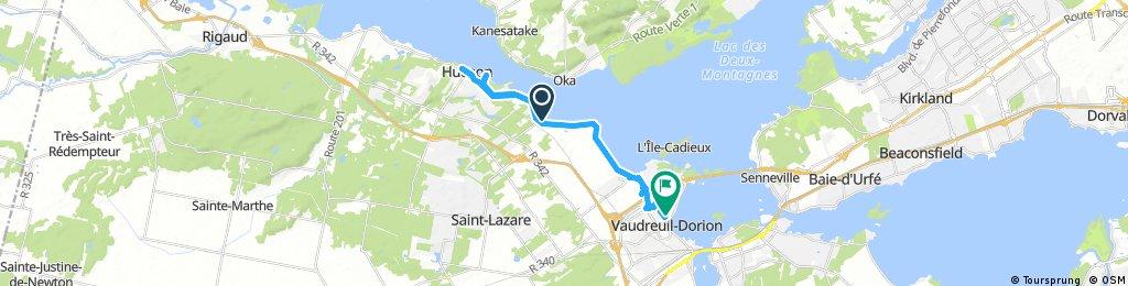 ride through Vaudreuil-Dorion
