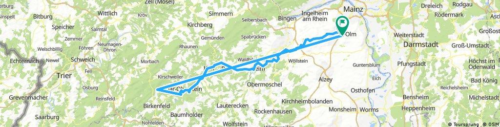 Lange Ausfahrt durch Nieder-Olm