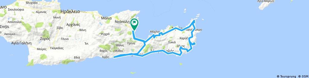 Round of Lasithi, Creta island