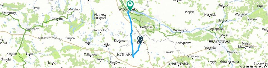 Trasa Kutno - Łęczyca - Włocławek