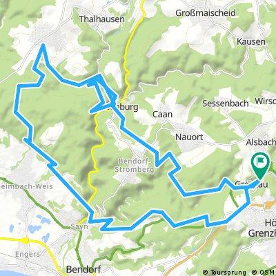 Sayn und Rhein - Westerwald