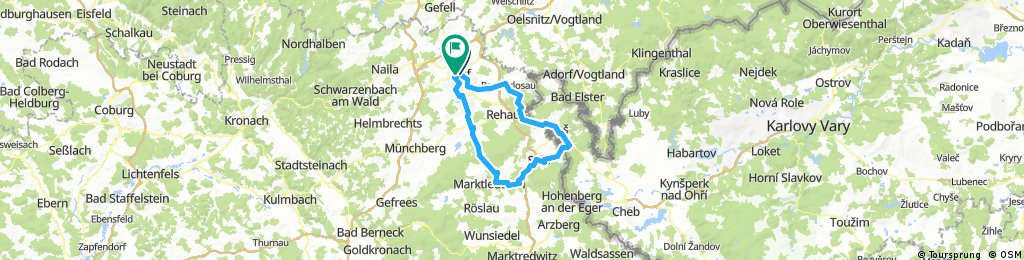 ADFC-Hof: Rundkurs über den Brückenradweg