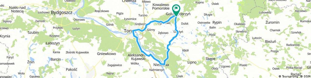 Golub-Ciechocinek-Toruń-Golub