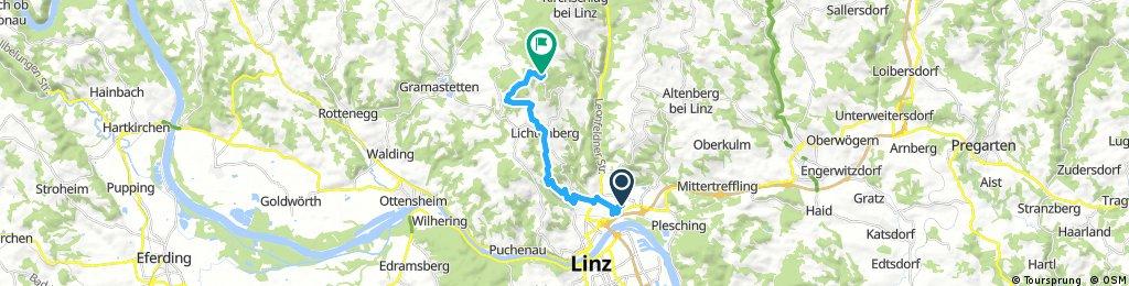 GIS über Gründberg/Bachlberg