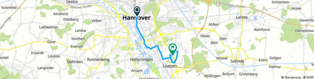 Hannover erfahren - Route 1 Maschsee-Route zum Park der Sinne