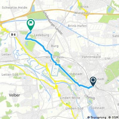 Hannover erfahren - Route 3 Herrenhausen-Route