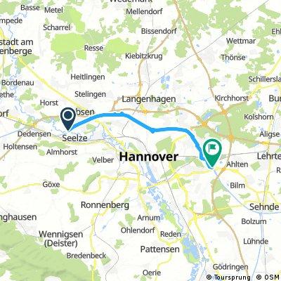Hannover erfahren - Route 4 Mittellandkanal-Route
