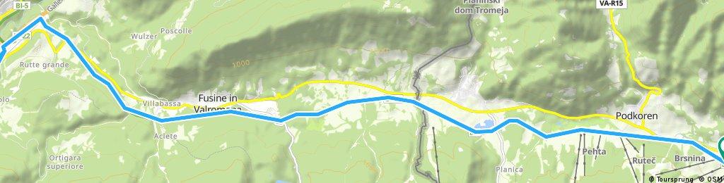Kranjska Gora-Tarvisio