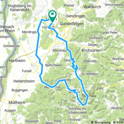 RSCN March Schauinsland Todtnau WiedEck