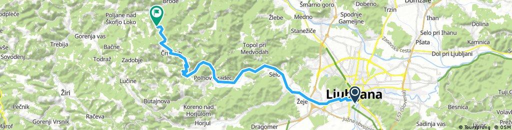 ljubljana-valterski vrh