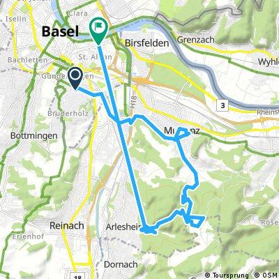 bike tour through Basel
