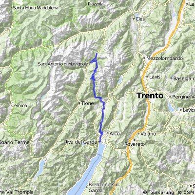 8.e Trans Alp 2010 Madonna Di Campiglio - Riva del Garda
