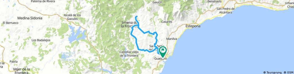 SanEnrique-San Pablo-Jimena-Tesorillo-SanEnrique