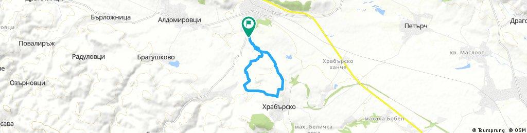 bike tour through Slivnitsa