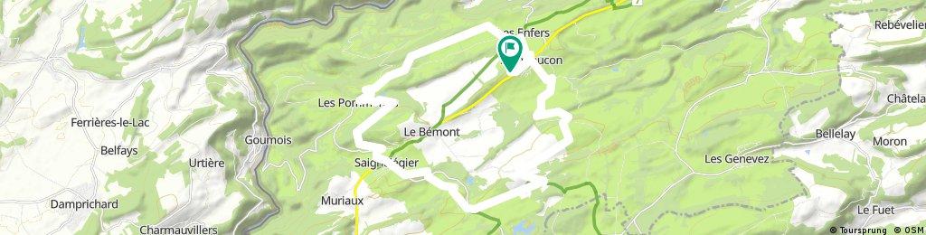 Radrunde durch Montfaucon