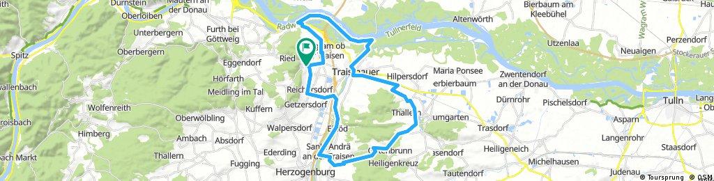 Nußdorf-Donau-Traismauer-Sitzenberg-Herzogenburg