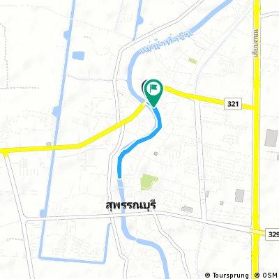 Brief bike tour through Suphan Buri