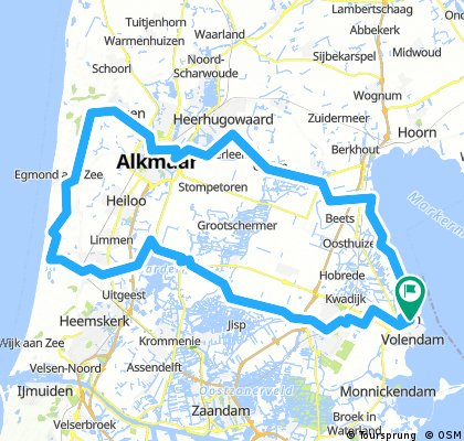 IJsselmeer-Noordzee