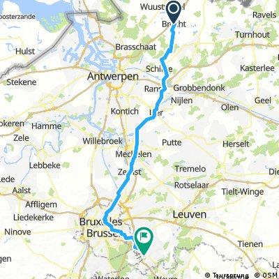 Brecht to Brussels, Belgium
