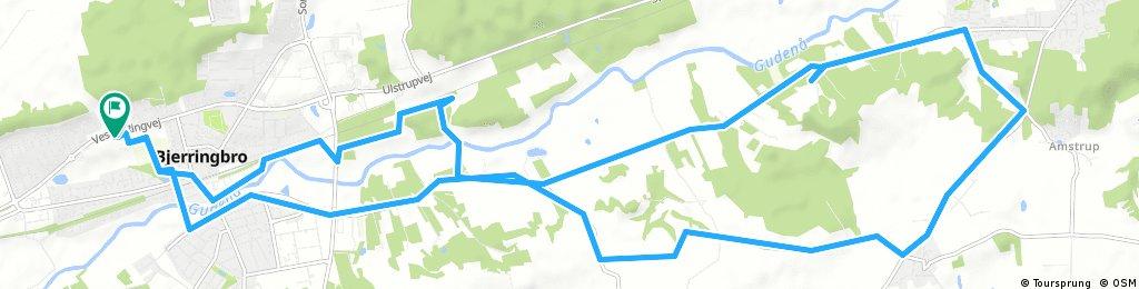bike tour through Bjerringbro