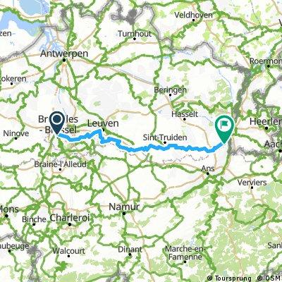 Brussels, Belgium to Maastricht, Netherlands