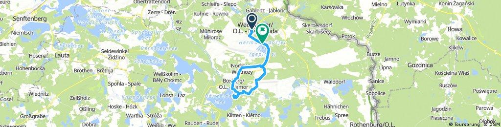 Weißwasser/O.L.- Boxberg -Bärwalder See
