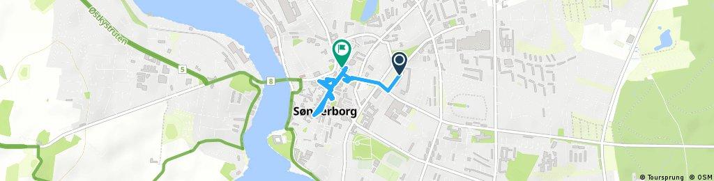 Short ride through Sønderborg