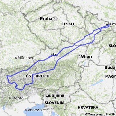 W Dolomity (12 dni) 2002r
