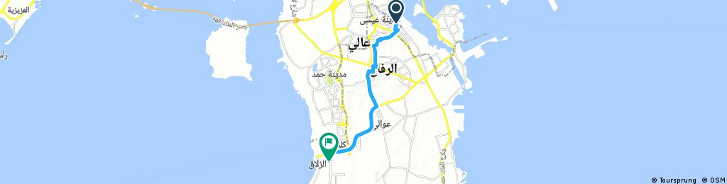 ride from مدينة عيسى to (null)