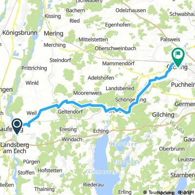 Etappe 4 - Oberbayern Süd-West