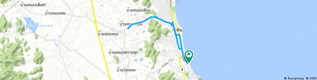 23 Aug 17 - Hua Hin - My 1st run